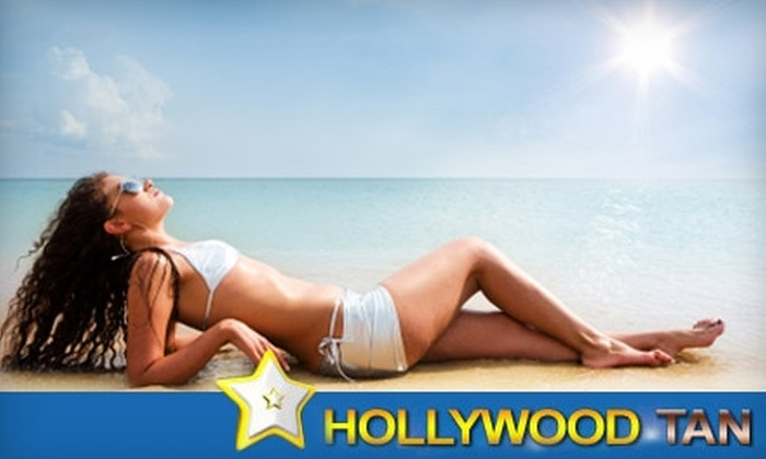 Hollywood Tan - Madison: $12 for One Month of Unlimited Tanning or Two Spray Tans at Hollywood Tan in Janesville (Up to $37.90 Value)