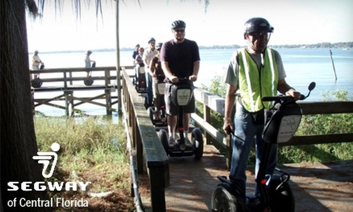 Segway of Central Florida - Downtown Mount Dora: $26 for a Historic Segway Tour of Mount Dora from Segway of Central Florida ($51 Value)