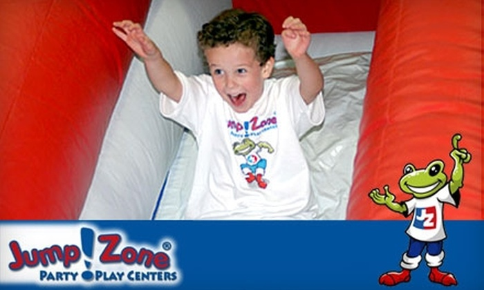 Jump!Zone Jacksonville - Orange Park: $8 for Two Admissions and Two Small Slushies at Jump!Zone in Orange Park (Up to $20.70 Value)