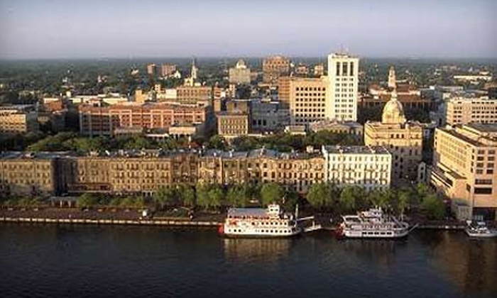 C Savannah - Historic District - North: $9 for an Adult Ticket ($18 Value) or $5 for a Child Ticket ($10 Value) for a Walking Tour from C Savannah