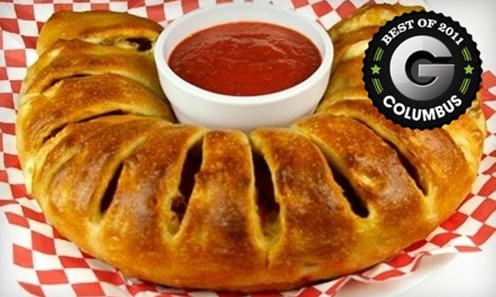Carsonie's Stromboli & Pizza Kitchen - Multiple Locations: $5 for $10 Worth of Italian Fare at Carsonie's Stromboli & Pizza Kitchen