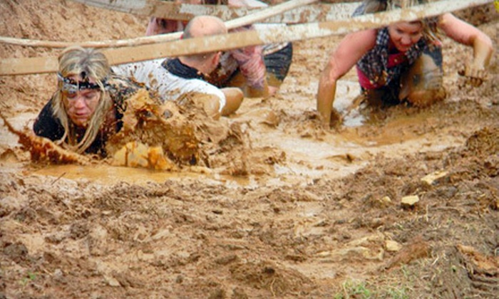 The Hillbilly Porkchop Roundup 5K Mudrun - The Hillbilly Porkchop Roundup 5K Mudrun: The Hillbilly Porkchop Roundup 5K Mudrun for Two or Five on Saturday, June 16, in Chandler (Up to 52% Off)