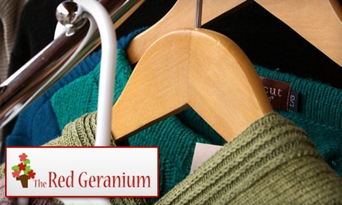 The Red Geranium - North Royalton: $15 for $35 Worth of Vintage and Secondhand Goods at The Red Geranium