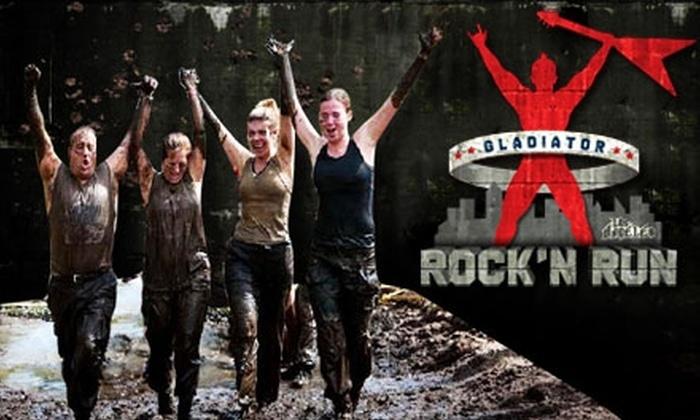 Gladiator Rock'n Run - Orange County: $35 for a Single Registration to Gladiator Rock'n Run Southern California ($85 value)