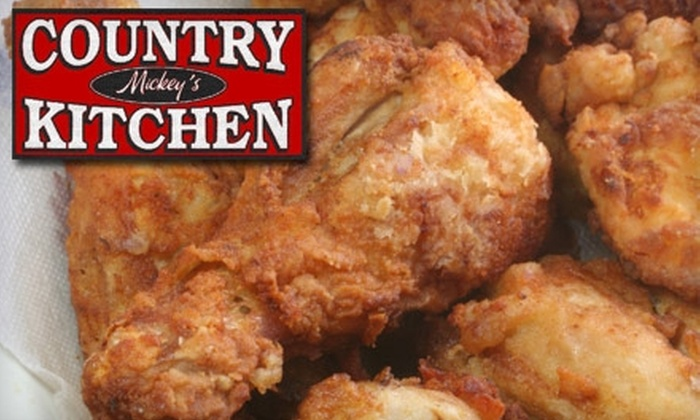 Mickey's Country Kitchen - Newcastle: $10 for $20 Worth of Home-Style Cooking and Drinks at Mickey's Country Kitchen