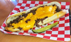 Casual American Food at Fat Larry's Cheesesteak & Hoagies (Up to 58% Off)