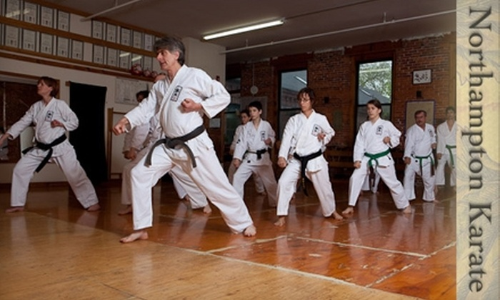 Northampton Karate - Northampton: $35 for One Month of Unlimited Classes at Northampton Karate in Florence (Up to $70 Value)