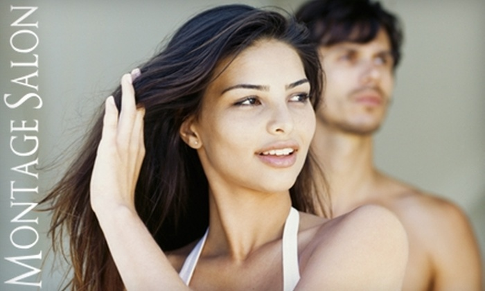 Montage Salon - Orchard Park: Hair and Waxing Services at Montage Salon. Choose from Three Options.
