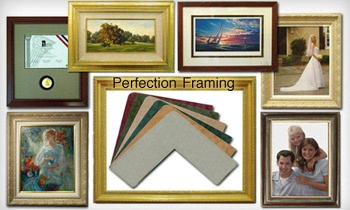 Perfection Framing - West Valley: $40 for $100 Worth of Custom Framing Services at Perfection Framing