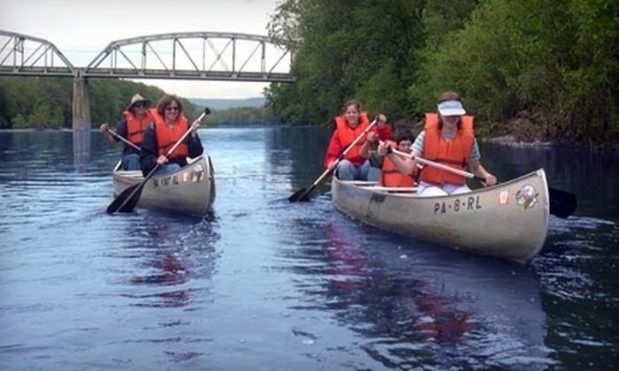 Juniata River Adventures - Mifflintown: Tube or Canoe Rental with Shuttle Service from Juniata River Adventures in Mifflintown