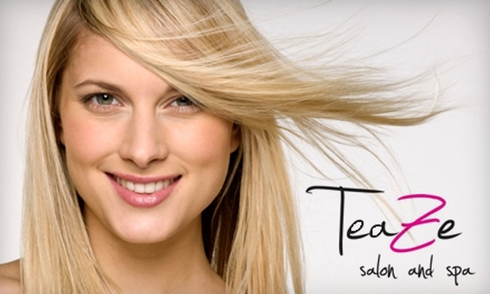 TeaZe Salon and Spa - Perrysburg: $25 for $50 Worth of Salon and Spa Services at TeaZe Salon and Spa