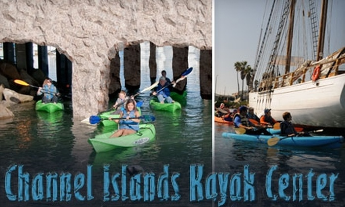 Channel Islands Kayak Center - Hollywood: $35 for a History and Wildlife Kayak Tour at the Channel Islands Kayak Center ($79.95 Value)