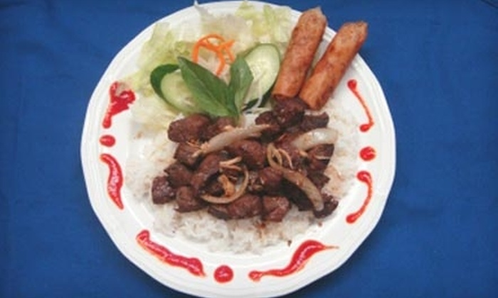 Diem 99 Cafe - Hickham: $7 for $15 Worth of Vietnamese Food at Diem 99 Café