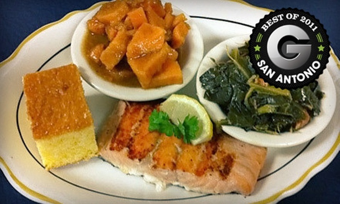 Bayseas on Blanco - North Central: $22 for a Seafood Meal with Appetizer, Entrees, and Dessert for Two at Bayseas on Blanco (Up to $46.46 Value)