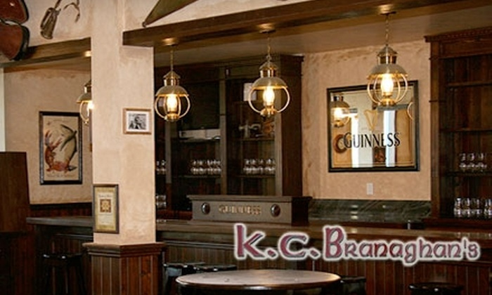 K.C. Branaghan's - Belmont Shore: $12 for $25 Worth of Irish Pub Fare and Drinks at K.C. Branaghan's Irish Pub and Restaurant in Long Beach
