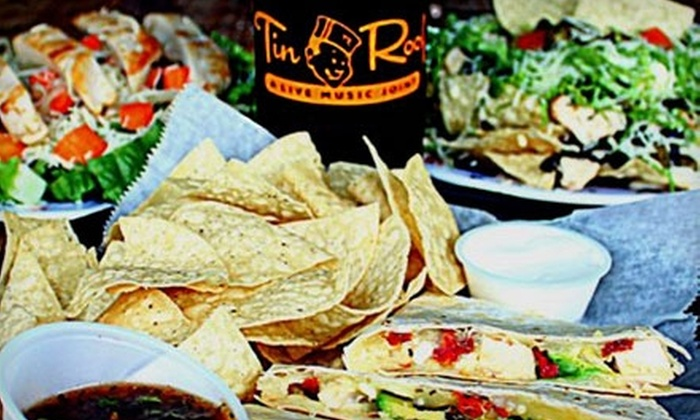 Tin Roof - Fort Sanders: $10 for $20 Worth of Pub Fare and Drinks at Tin Roof