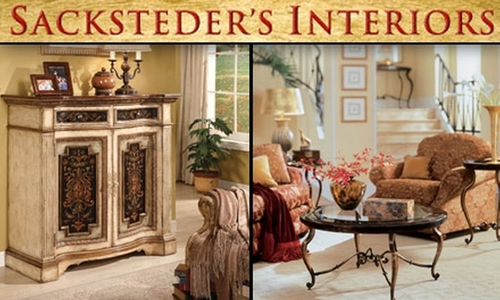 Sacksteder's Interiors - Multiple Locations: $15 for $30 Worth of Gifts, Home Décor, and Accessories at Sacksteder's Interiors