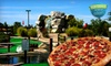 Ben and Ari's and Marco's Pizza - Fishers: $20 for Mini Golf, Mini Pin Bowling, and Arcade Outing for Four at Ben and Ari's and Marco's Pizza in Fishers (Up to $40.74 Value)