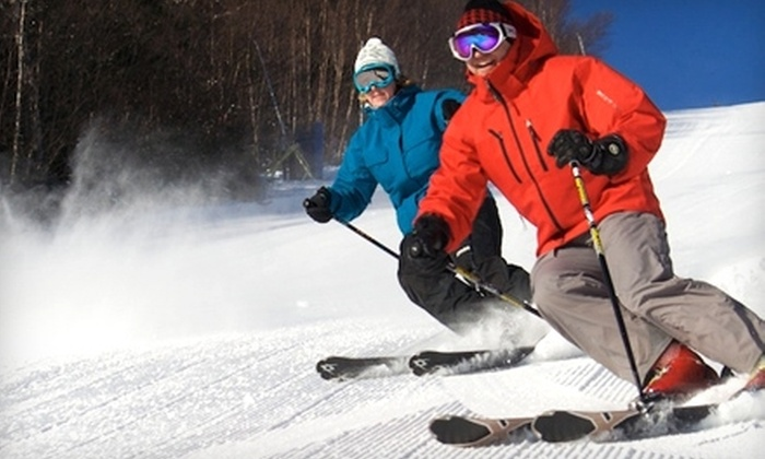 Waterville Valley Ski Resort - Waterville Valley: $40 for Lift Ticket ($69 Value) or $144 for One-Night Weeknight Ski-and-Stay Package ($288 Value) at Waterville Valley Ski Resort