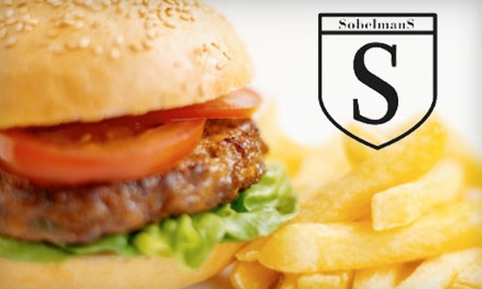 Sobelmans Pub and Grill - Menomonee River Valley: $7 for $15 Worth of Burgers, Drinks, and More at Sobelmans Pub and Grill