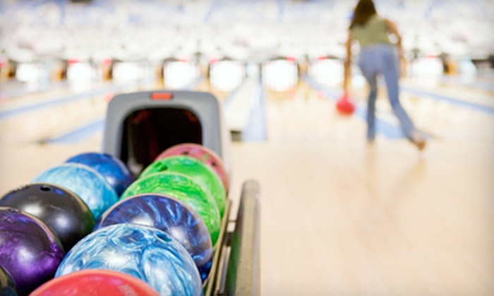 Olivette Lanes - Olivette: Two Games of Bowling with Shoe Rental for Two, Four, or Six at Olivette Lanes (Up to 64% Off)