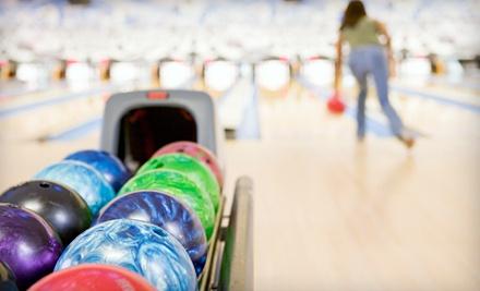 2 Games of Bowling with Shoe Rentals for 2 - Olivette Lanes in Olivette