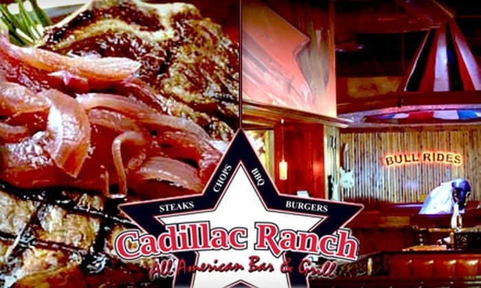Cadillac Ranch - Downtown Indianapolis: $20 for $40 Worth of American Food & Drinks at Cadillac Ranch