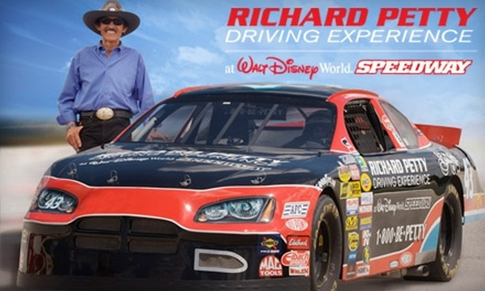 Richard Petty Driving Experience - Walt Disney World Resort: $58 for a Three-Lap Ride-Along and Photo from Richard Petty Driving Experience at Walt Disney World® Speedway ($116.50 Value)