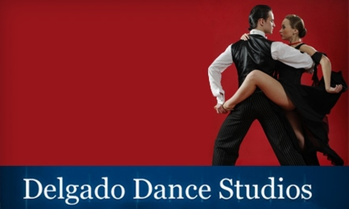 Delgado Dance Studios - Spring Valley: $25 for a Month of Unlimited Group Dance Classes and a Private Dance Lesson at Delgado Dance Studios ($152 Value)