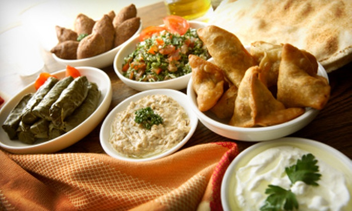 Cedarland Bakery & Restaurant - Riverside: $5 for $10 Worth of Lebanese Fare and Drinks at Cedarland Bakery & Restaurant