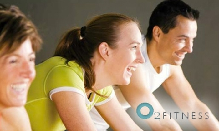 O2 Fitness - Multiple Locations: $20 for 10-Day Pass and Two Personal Training Sessions at O2 Fitness ($131 Value)