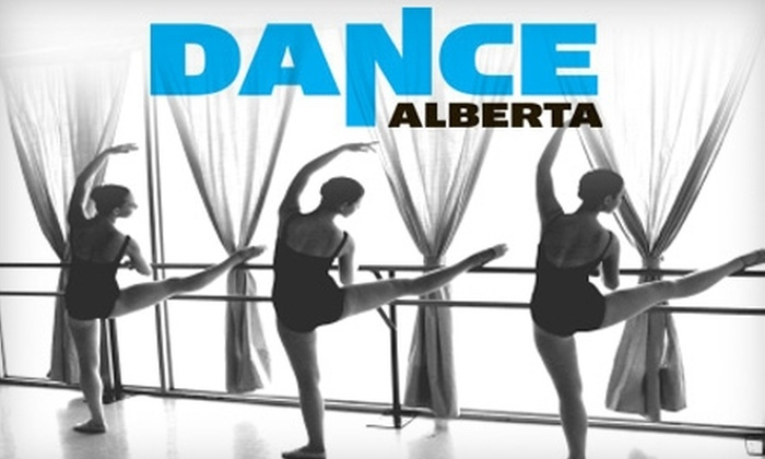Dance Alberta - Queen Mary Park: $25 for an Adult Four-Pass Card for Classes at Dance Alberta