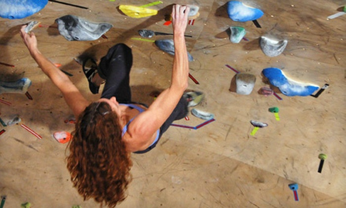 The Front Climbing Club - Multiple Locations: One-Day Gym Outing, Five Visits, or a One-Month Membership to The Front Climbing Club (Up to 63% Off)