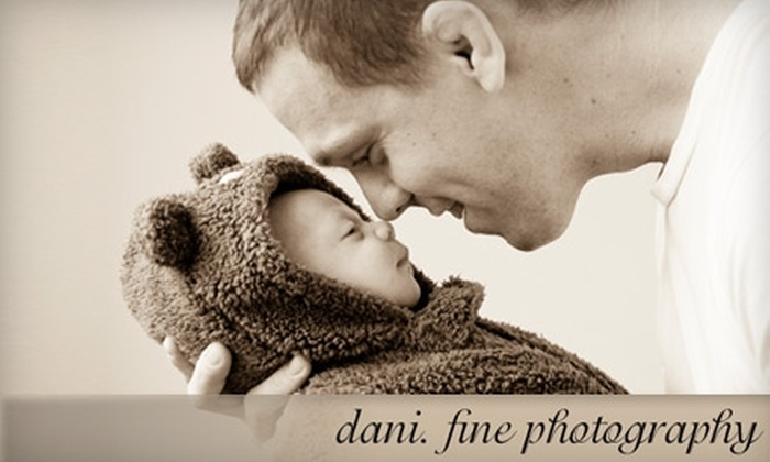 dani. fine photography - Easthampton: One-Hour Studio Session at Dani. Fine Photography. Choose Between Two Options.