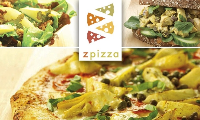 zpizza (GA) - Multiple Locations: $10 for $20 Worth of Gourmet Pizza and More at Zpizza
