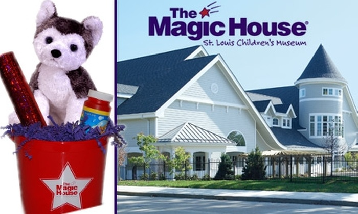 The Magic House - St Louis: $75 for a One-Year Family Membership and Gift Basket at The Magic House (Valued at $170)