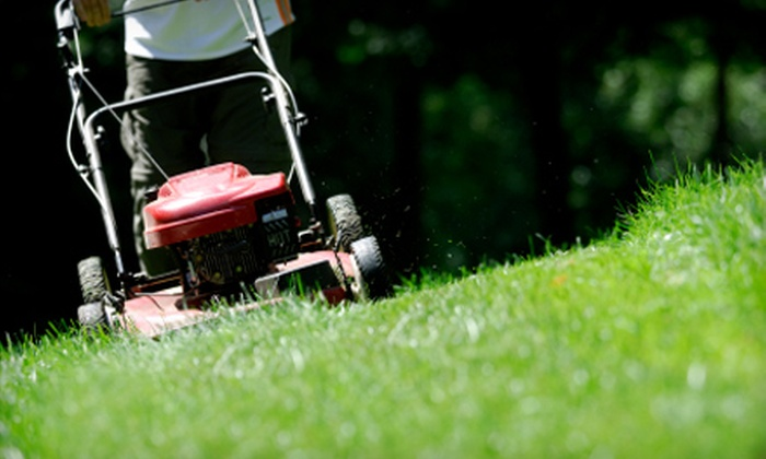 Tree Frog Lawn and Landscaping - Columbia, MO: Lawn Mowing or Power-Washing Services from Tree Frog Lawn and Landscaping. Two Options Available.