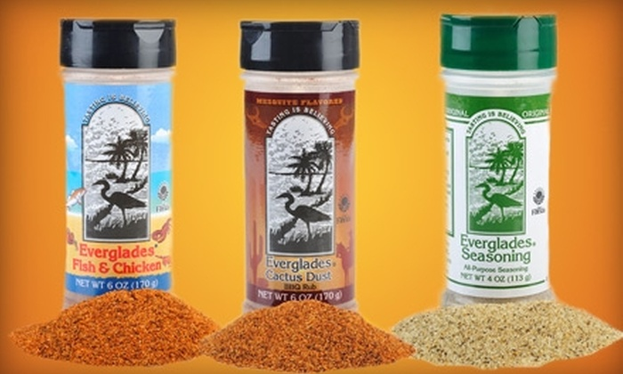 Everglades Seasoning: $10 for $20 Worth of Spices, Sauces, and Gifts from Everglades Seasoning