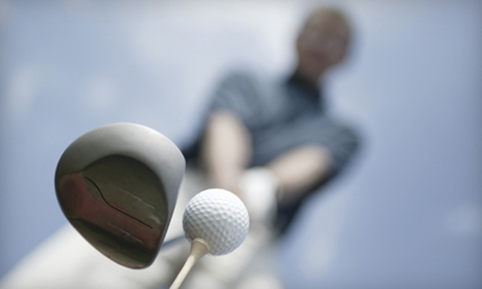 Denny Alberts Golf School - Orange Grove Industrial Park: $35 for a One-Hour Private Golf Lesson from Denny Alberts Golf School ($75 Value)