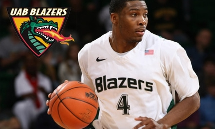 University of Alabama at Birmingham - Five Points South: $15 for Two Tickets to the UAB Blazers Men's Basketball vs. Southern Miss Golden Eagles Game at Bartow Arena ($30 Value)