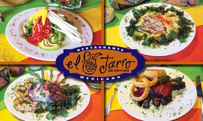 El Jarro de Arturo - Northeast San Antonio: $15 for $35 Worth of Gourmet Tex-Mex and Drinks at El Jarro de Arturo