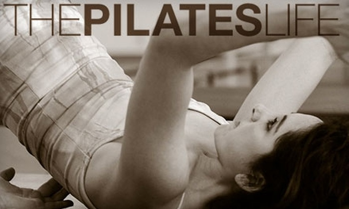 The Pilates Life - Riverside: $35 for a Five Class Card at The Pilates Life ($70 Value)