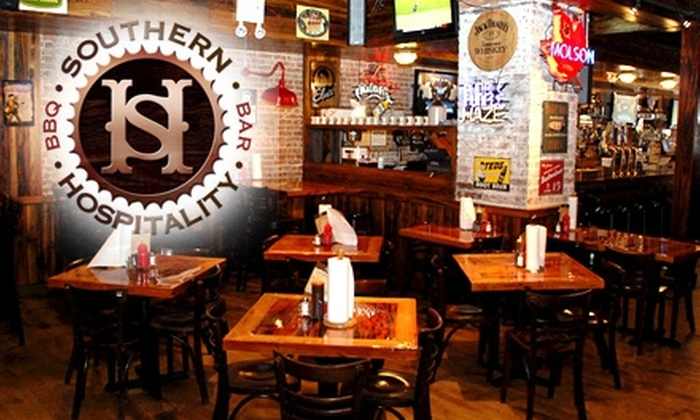 Southern Hospitality - Upper East Side: $8 for a Drink and Deep-Fried Pickle Chips at Southern Hospitality ($17 Value)