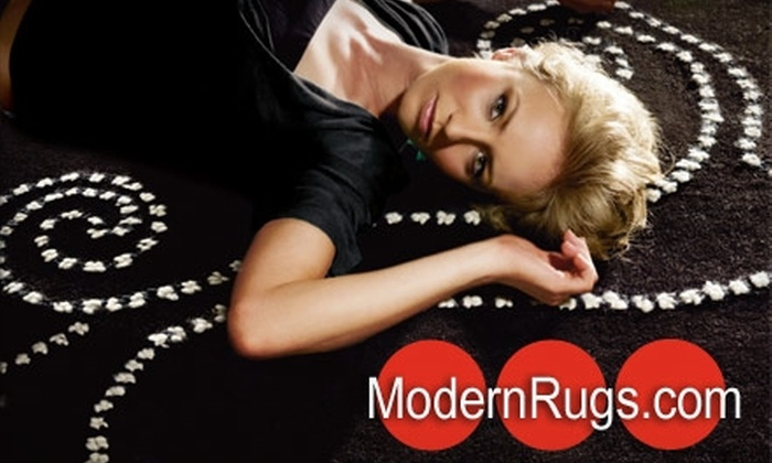 ModernRugs.com: $50 for $175 Worth of Rugs at ModernRugs.com