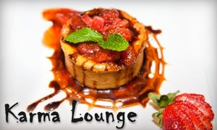 Karma Lounge - Ossining: $15 for $30 Worth of American Fare and Cocktails at Karma Lounge