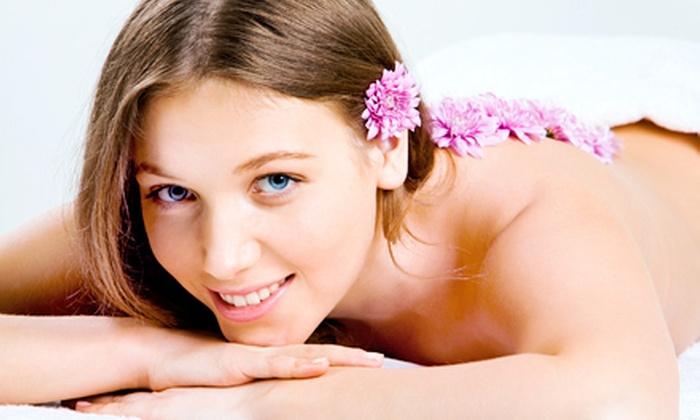 Utopian Salon & Wellness - Palm Aire Plaza: $40 Toward Massages and Skincare