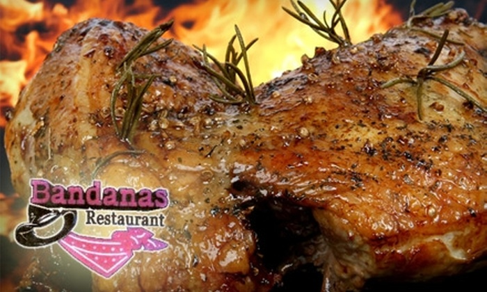 Bandana's Restaurant - Downtown Montgomery: $5 for $10 of Southern Comfort Fare and Drinks at Bandana's Restaurant