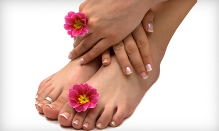 Element Six Salon & Spa - Cromwell: Element Six $35 for Mani-Pedi ($75 Value) or $37 for Facial ($75 Value) at Element Six Salon & Spa in Cromwell