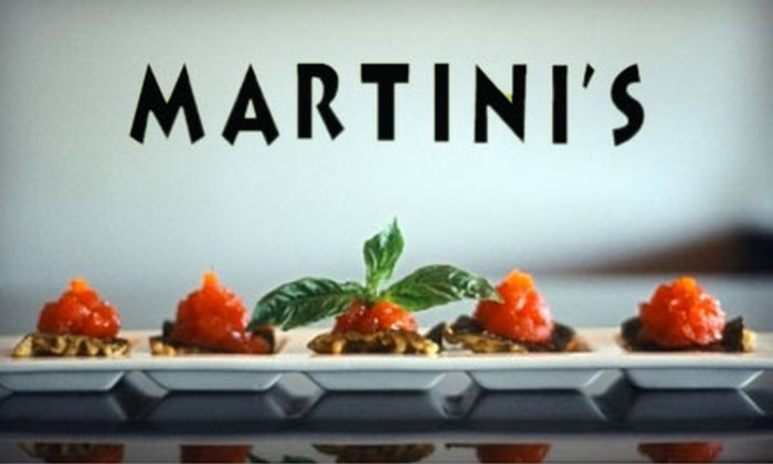 Martini's Chophouse - Town Of Blake: $10 for $20 Worth of Seafood, Steaks, and Drinks at Martini's Chophouse