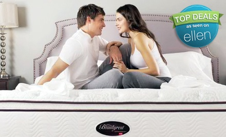 Twin-Size Simmons Beautyrest Classic Mattress in Either the Stephanie or Aliyah Model (up to $910 value) - Palisade Furniture in Englewood